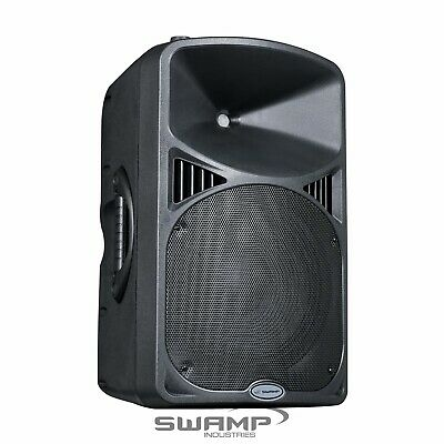 "SWAMP PA-12MD 12"" Powered PA Speaker w DSP - Class D 500W RMS"