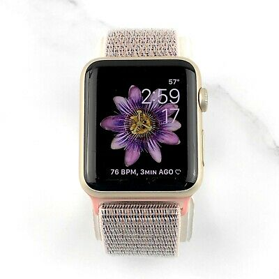 Apple Watch Series 2 38mm Gold Aluminum Case Pink Sand Loop GPS (MNNY2LL/A)