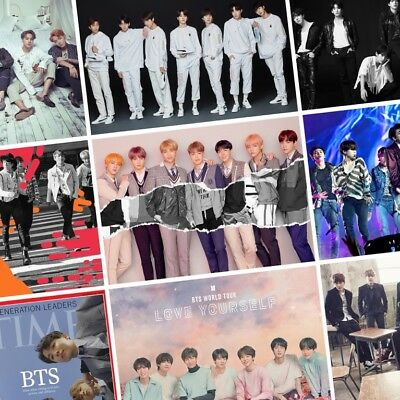 BTS Love Yourself: Tear PHOTO Print POSTER Band Beyond The Scene Face Yourself