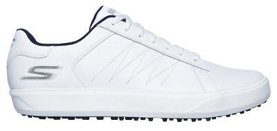 Skechers Mens GO Golf Drive 4 Golf Shoes 54533 WNV White/Navy New