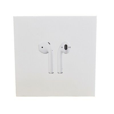 0a94d65919bb82 New Apple AirPods White Genuine In-Ear Wireless Bluetooth Headsets MMEF2AM/A