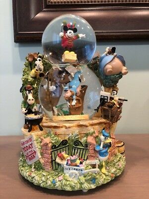 Disney Mickey's Band Concert in the Park Double Bubble Snowglobe