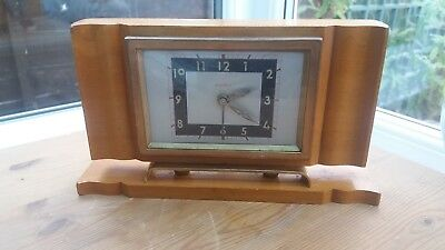French Art Deco Alarm Clock By Bayard