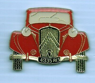 pin pin's traction avant voiture citroen