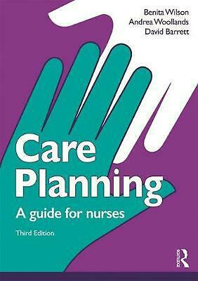 Care Planning: A guide for nurses by David Barrett Paperback Book Free Shipping!
