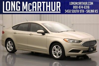 2018 Ford Fusion SE FWD 1.5 ECOBOOST 6-SPEED AUTOMATIC TRANSMISSION MSRP $25120 E COLD WEATHER  PACKAGE ROTARY GEAR SHIFT DIAL 17 INCH SILVER PAINTED WHEELS