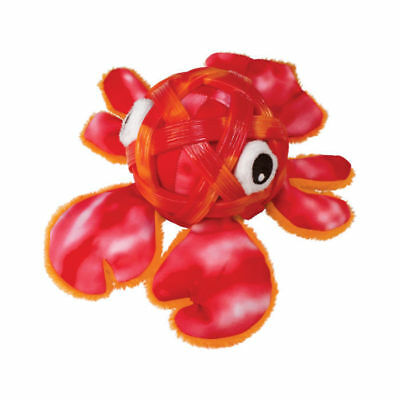 Kong SeaShells Dog Toy Red Lobster Tough Durable