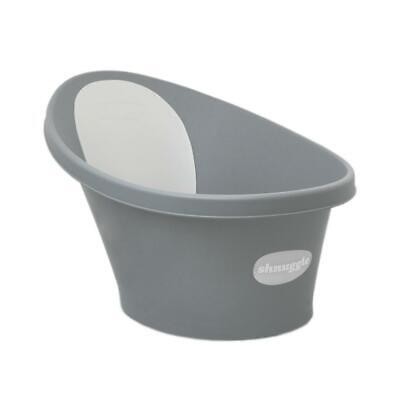 Shnuggle Baby Bath With Backrest & Bum Bump Support (Slate Grey) Free Shipping!