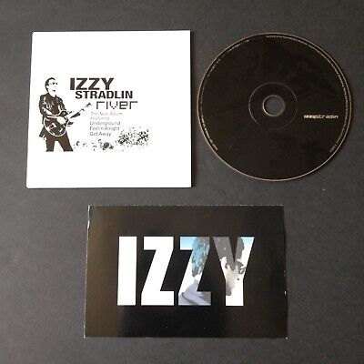 IZZY STRADLIN River Promo CD and Promo 4x6 card Guns N' Roses