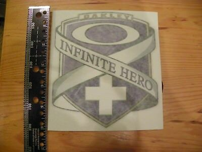 Brand New Authentic Oakley Infinite Hero Decal Sticker 3  inch FREE US SHIPPING