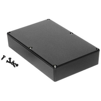 Hammond 1590DDBK Diecast Enclosure Black (187.5 x 119.5 x 37mm)