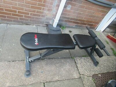 Dumbbell bench in lovely condition