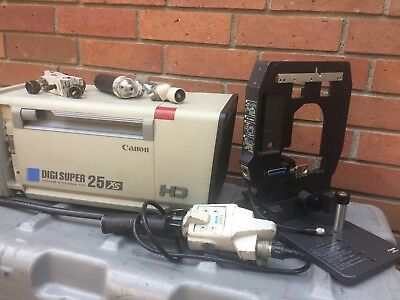 Canon XJ25x6.8B HD Box Lens with Zoom & Focus Controls, Canon Support and Case