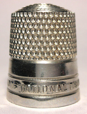 Mint Early Simons National Thimble Collectors Convention 1976 - Polished Pewter