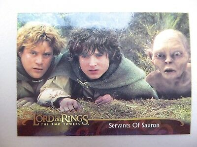 TOPPS Lord of the Rings: The Two Towers - Card #122 SERVANTS OF SAURON