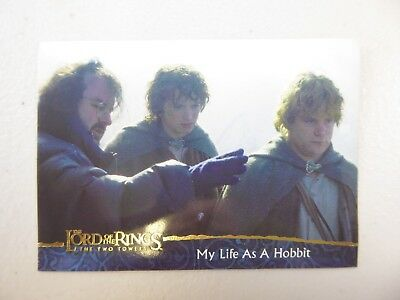 TOPPS Lord of the Rings: The Two Towers - Card #82 MY LIFE AS A HOBBIT
