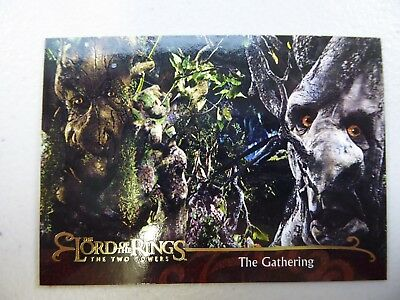 TOPPS Lord of the Rings: The Two Towers - Card #133 THE GATHERING