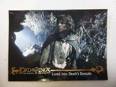 TOPPS Card : LOTR The Return Of The King  #64 LURED INTO DEATH'S DOMAIN