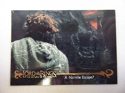 TOPPS Card : LOTR The Return Of The King  #67 A NARROW ESCAPE?