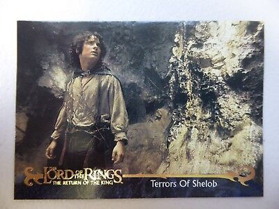 TOPPS Card : LOTR The Return Of The King  #154 TERRORS OF SHELOB