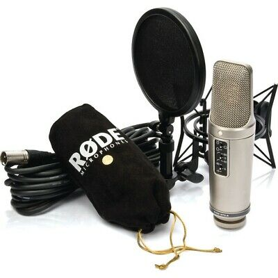 Rode NT2-A Studio Solution Bundle Contains Microphone, SM6 Shockmount & cable Op