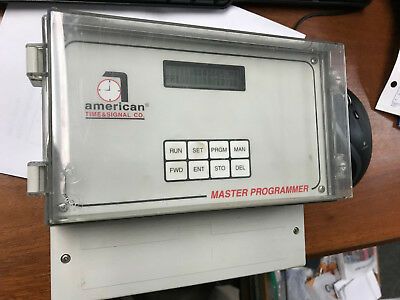 American Time & Signal - Event Clock Signal Programmer for Bells, etc