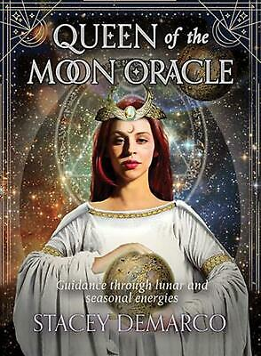 Queen of the Moon Oracle: Guidance Through Lunar and Seasonal Energies by Stacey