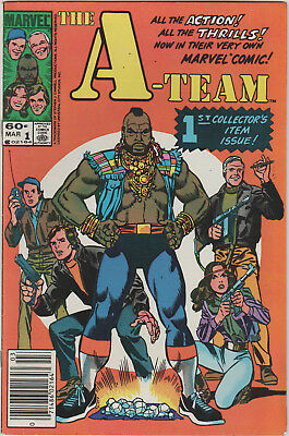 The A-Team TV Series Marvel Comics Comic Book #1