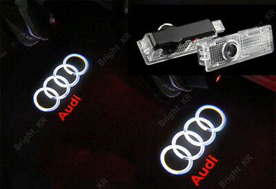 Audi Door Puddle Cree Laser Courtesy Ghost Logo Lights Led Projectors