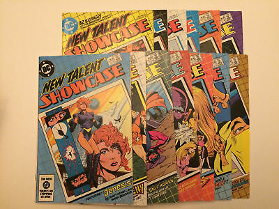 New Talent Showcase #3-15 VF+ or BETTER 13 BOOK LOT