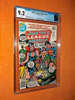 JUSTICE LEAGUE OF AMERICA #161 CGC 9.2 {Zatanna dons new costume & joins JLA}