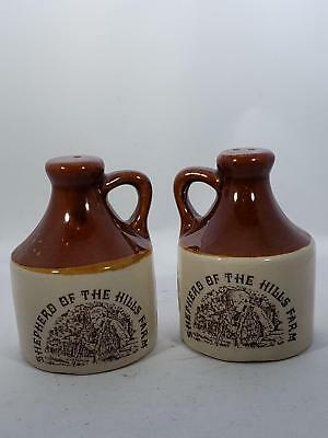 Shepard Of The Hills Farm - Salt And Pepper Shaker Set - Little Brown Jug
