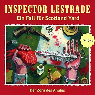 Inspector Lestrade 02. Der Zorn des Anubis 9783864733376 Fast Free Shipping*-