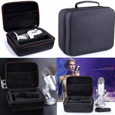 Durable EVA Hard Case Carrying Bags Storage Box Protective for Blue Yeti Pro New