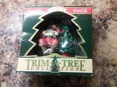 Coca Cola~Trim-A-Tree Collection Santa Ornament~1935 Haddon Sundblom~New