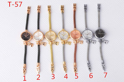 New Fashion Stainless steel Digital Bracelet Pendant Quartz Bear Wrist Watch