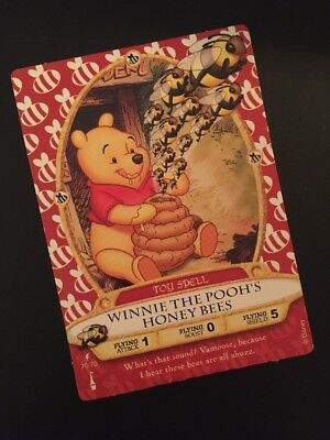 RARE!!/Awesome!  Disney's Sorcerers of the Magic Kingdom Winnie the Pooh Card!