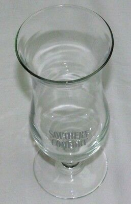 Vtg Southern Comfort Hurricane Glass Collectible Barware Whiskey Advertising