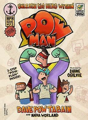 Powman by Dave Tabain Paperback Book Free Shipping!