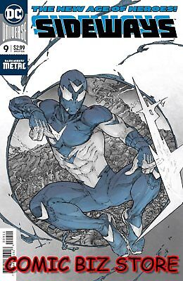 Sideways #9 (2018) 1St Printing Foil Cover Dark Nights Metal Tie-In Dc Batman
