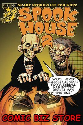 1ST PRINTING JEFF SMITH RI VARIANT COVER ALBATROSS SPOOKHOUSE 2 #1 2018 OF 4