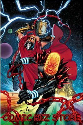Thor #5 (2018) 1St Printing Lupacchino Cosmic Ghost Rider Variant Cover Marvel