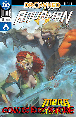 Aquaman #41 (2018) 1St Print Drowned Earth Dc Universe Main Cvr Bagged & Boarded