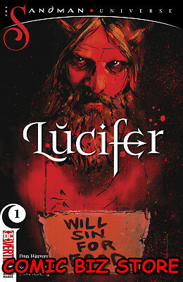 Lucifer #1 (2018) 1St Printing Montes Main Cover Bagged & Boarded Dc Comics