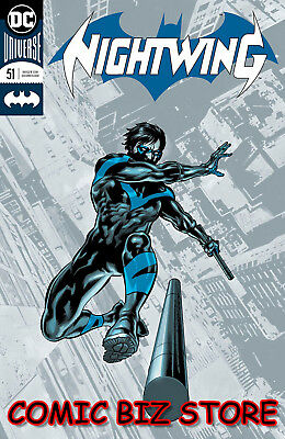 Nightwing #51 (2018) 1St Printing Perkins Foil Cover Dc Comics Universe