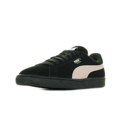 Cuir Puma Taille W's Femme Suede Classic Lacets Chaussures Noir Baskets Noire Igvb6f7yYm