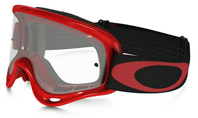 Maschera da Motocross Quad  Bambino Oakley XS O Frame MX High Voltage Red