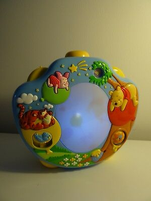 Disney Winnie The Pooh Sweet Dreams Lightshow Projector Night Light Baby Toy Cot