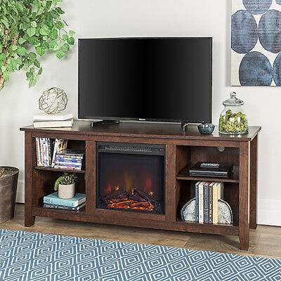 Walker Edison Furniture Co 58 Inch Wood Tv Stand Console With