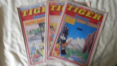 TIGER and SCORCHER 3 issues (1977/8)